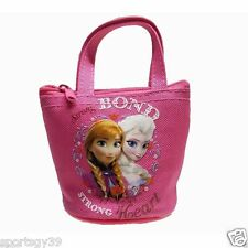 "Disney Frozen Hot Pink Queen Elsa Anna Coin Purse Goody party bag 3.5"" x 4"""