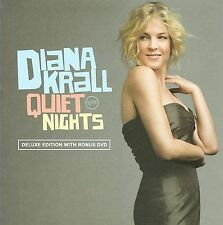 Quiet Nights [Deluxe Edition] by Diana Krall (CD, Sep-2009, 2 Discs, Verve)