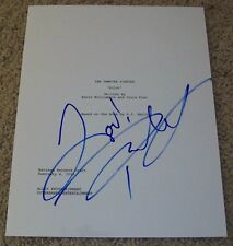 PAUL WESLEY SIGNED THE VAMPIRE DIARIES 63 PAGE PILOT SCRIPT w/PROOF AUTOGRAPH