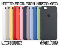 16 COLOURS 100% GENUINE ORIGINAL Apple iPhone 6S Silicone Case TOP SELLER