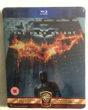 NEW BATMAN THE DARK KNIGHT UK STEELBOOK WARNER BROS ANNIVERSARY LIMITED EDITION