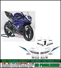 kit adesivi stickers compatibili yzf r 125 cup 2013