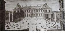 JEAN MAROT 1619-1679: Face de'Albergue de señor. El Grande Previa como il se