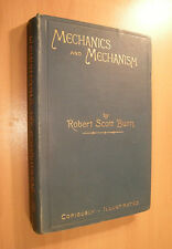 1892-  Mechanics and Mechanism - Principles of Mechanics - Machine Gearing