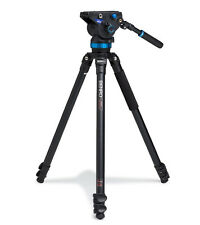 Benro A373F Aluminum Video Tripod with S8 Pan Tilt Head #A373FBS8 open box