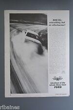 R&L Ex-Mag Advert: Ford Galaxie 500 XL Car