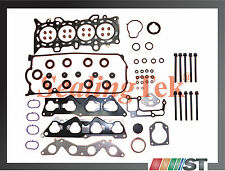 01-05 Honda 1.7L D17A Cylinder Head Gasket Set w/ Bolts Kit 1.7EL engine motor