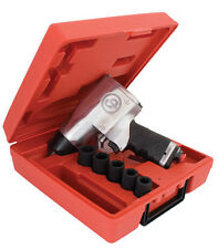 "CP734H Metric Kit Chicago Pneumatic 1/2"" Impact Wrench with sockets - top brand"