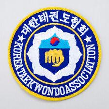 Martial Arts Embroidered Korea Taekwondo Badge TKD Patch Dobok Uniform KTA Suit