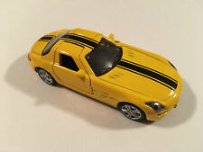 Siku Mercedes-Benz SLS AMG Yellow Scale 1:55 Diecast Model Supercar