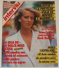 INTERVIU #482 1985 Rock Hudson nude models Angel Nieto Spain men's magazine