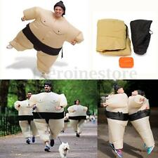 Inflatable Costume Sumo Suits With Fan Fancy Dress For Party Wrestling Christma