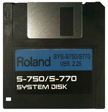 ROLAND S-750 / S770 Operating System Startup Disk v2.25 OS Boot  Fast Shipping!