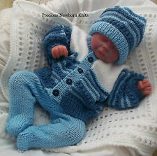 Baby Knitting Pattern TO KNIT Baby Boys, Girls or Reborn Doll  Pattern DK #40