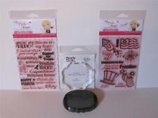 """My Pink Stamper """"Yankee Doodles & Freedom Rocks"""" & Ink Collection RETIRED MPS"""