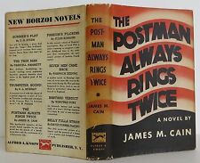 JAMES M. CAIN The Postman Always Rings Twice FIRST EDITION