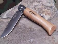 Opinel VRI No 8 # Knife Beech Wood Folding Pocket Stainless 23080
