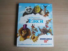 ALBUM Card EROI DREAMWORKS=Edizione Esselunga 2012=mancano due cards (nn°8 e 9)