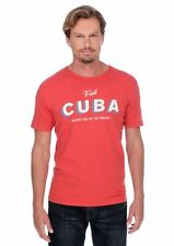 Lucky Brand - NWT - Mens XL - Red Cuba Holiday Isle of the Tropics Cotton Tee