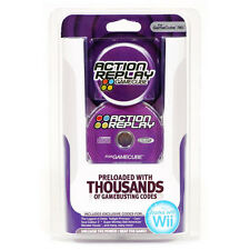 NEW GENUINE DATEL ACTION REPLAY CHEATS CODES SYSTEM FOR GAMECUBE & NINTENDO WII