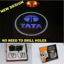2 in 1 Car Door Logo Projector Ghost Shadow Welcome Light For Tata Vehicles