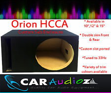 "Orion HCCA 10"" 12"" 15"" Empty Subwoofer Speaker Box Enclosure Sub Bassbox( Sale)"