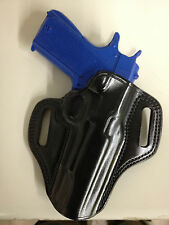 Galco Combat Master Holster for Glock 20, 21, 37 Right Hand Black CM228B
