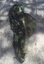 US Gore Tex Woodland Camouflage Sleeping Bag, Bivy Cover, Modular Sleep System