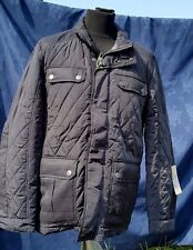 NEW Calamar Designer Men's 120130 2Y14 Long Sleeve Quilted Patch Jacket - 42R