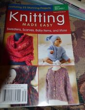 Knitting Made Easy Knitting Pattern Booklet 25 Projects