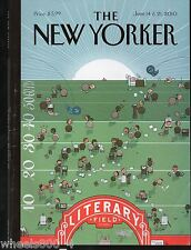 "The New Yorker Magazine June 14 & 21, 2010 ""Finish Line"" by Chris Ware Exc."