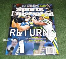 2015 JERMAINE KEARSE~SEATTLE SEAHAWKS~SPORTS ILLUSTRATED~SUPER BOWL XLIX PREVIEW