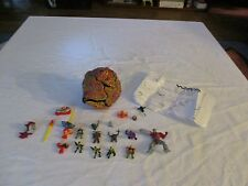 Trendmasters War Planets Planet Fire Near Complete & Mighty Max figures