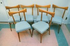 Paul McCobb  Bowtie Maple Dining Chairs Set Of Six