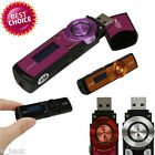 Portable USB MP3 Music Player LCD Screen Support 8GB Flash TF Card FM Radio LOT