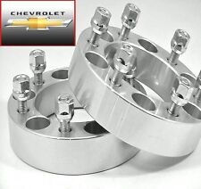 4 Pc CHEVY TRAILBLAZER 6 LUG WHEEL SPACERS 1.50 Inch # 6500C1215