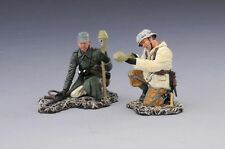 THOMAS GUNN SS020A - Late War Tank Hunters (Winter) WW2 Painted Diecast Metal