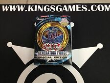 YuGiOh Generation Force Special Edition - Factory Sealed - 3 Packs + Holo!