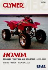 New Honda TRX 400EX 1999-2005 Clymer Shop/Repair Manual