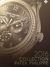 Patek Philippe Watch Collection Catalogue Book 2016 Collectible Edition