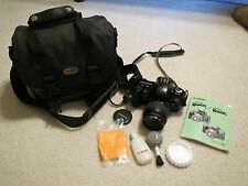 Canon Rebel XS film Camera Body and EF 35 - 80 1:4-5.6 lens