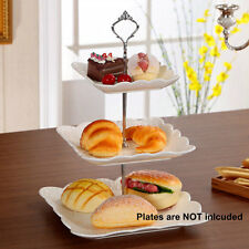 Cupcake Stand Stainless steel Round Wedding Birthday Cake Display Tower 3 Tier