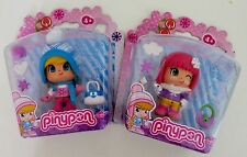 New In Pack Famosa Pinypon Dolls Winter Collection 2Packs