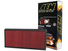AEM 28-20857 STOCK REPLACEMENT WASHABLE REUSABLE PANEL AIR FILTER [MADE IN USA]