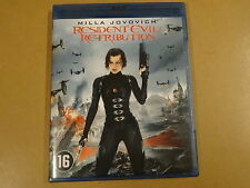 BLU-RAY / RESIDENT EVIL - RETRIBUTION ( MILLA JOVOVICH )