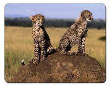 Cheetahs on Watch Computer Mouse Mat Christmas Gift Idea, AT-25M