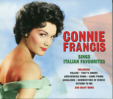 CONNIE FRANCIS SINGS ITALIAN FAVOURITES - 2 CD BOX SET - VOLARE, & MORE