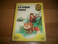 GIALLO DEI RAGAZZI MONDADORI-N. 108-ENZO RUSSO-LA VOLPE ROSSA-ROSSANA-1976-1aED.