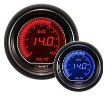 Prosport 52mm EVO Car DC Voltage Red Blue LCD Digital Display Gauge