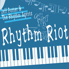 JEFF POTTER Rhythm Riot CD - Great American Rock 'n' Roll Piano Rockabilly NEW
